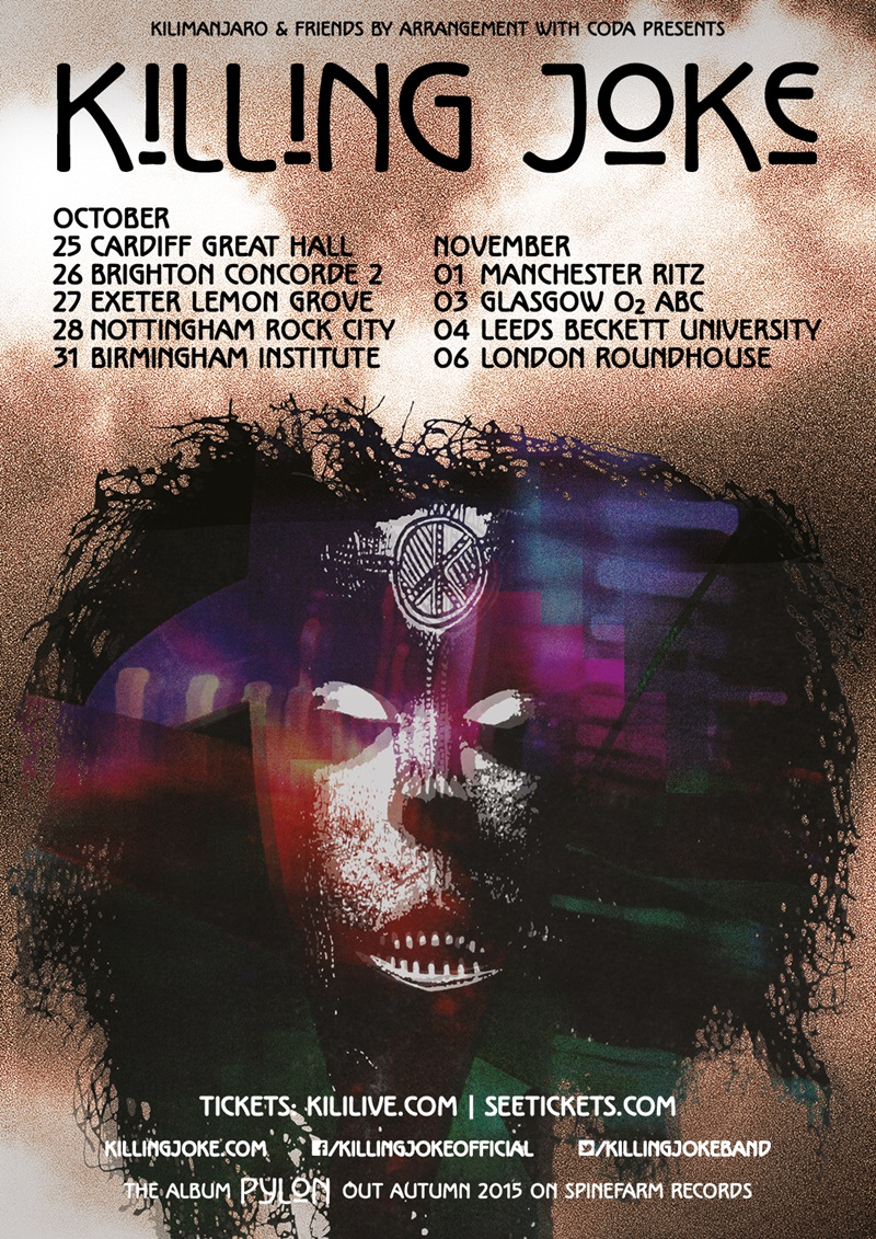 Killing Joke UK Tour 2015