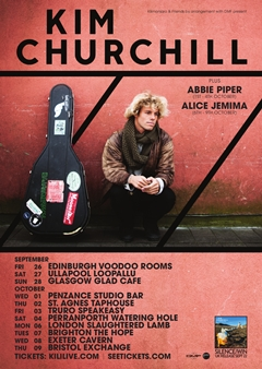 Kim Churchill UK Tour 2014