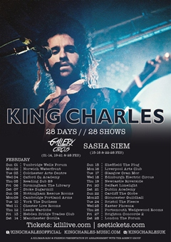King Charles UK Tour 2015