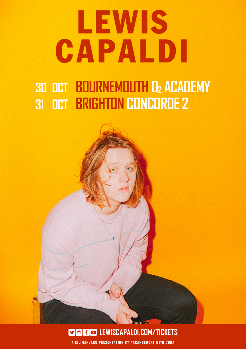 Lewis Capaldi UK Shows 2018