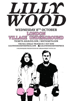 LILLYWOOD UK Tour 2014