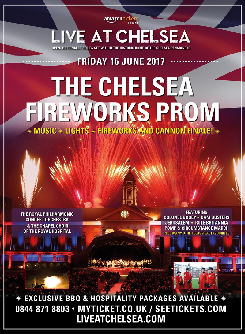 The Chelsea Fireworks Prom London UK 2017