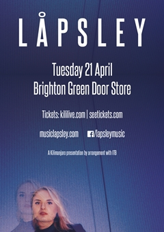 Lapsley UK Tour 2015