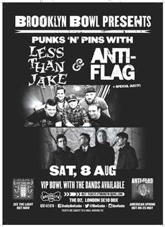 Less Than Jake + Anti-Flag UK Tour London 2015