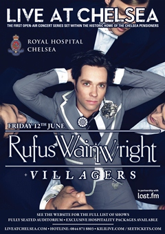 Rufus Wainwright at Live At Chelsea UK 2015 London