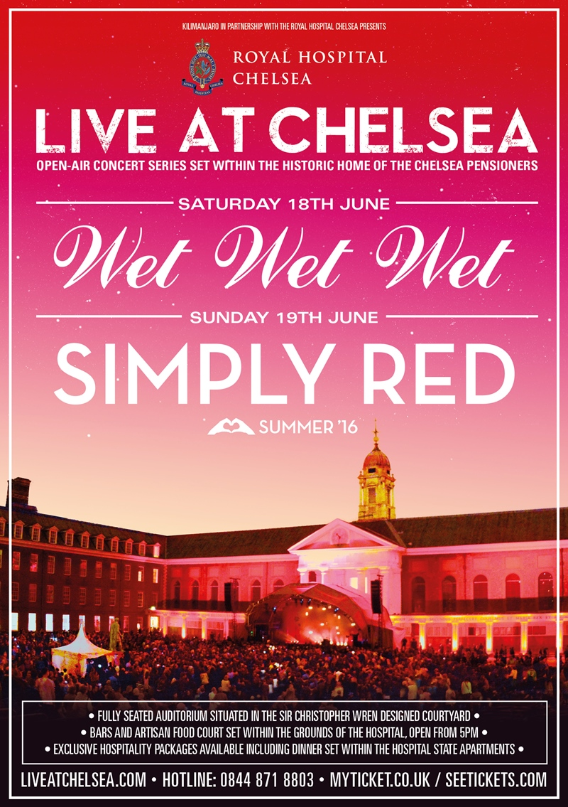 Live at Chelsea UK London 2016 festival/show