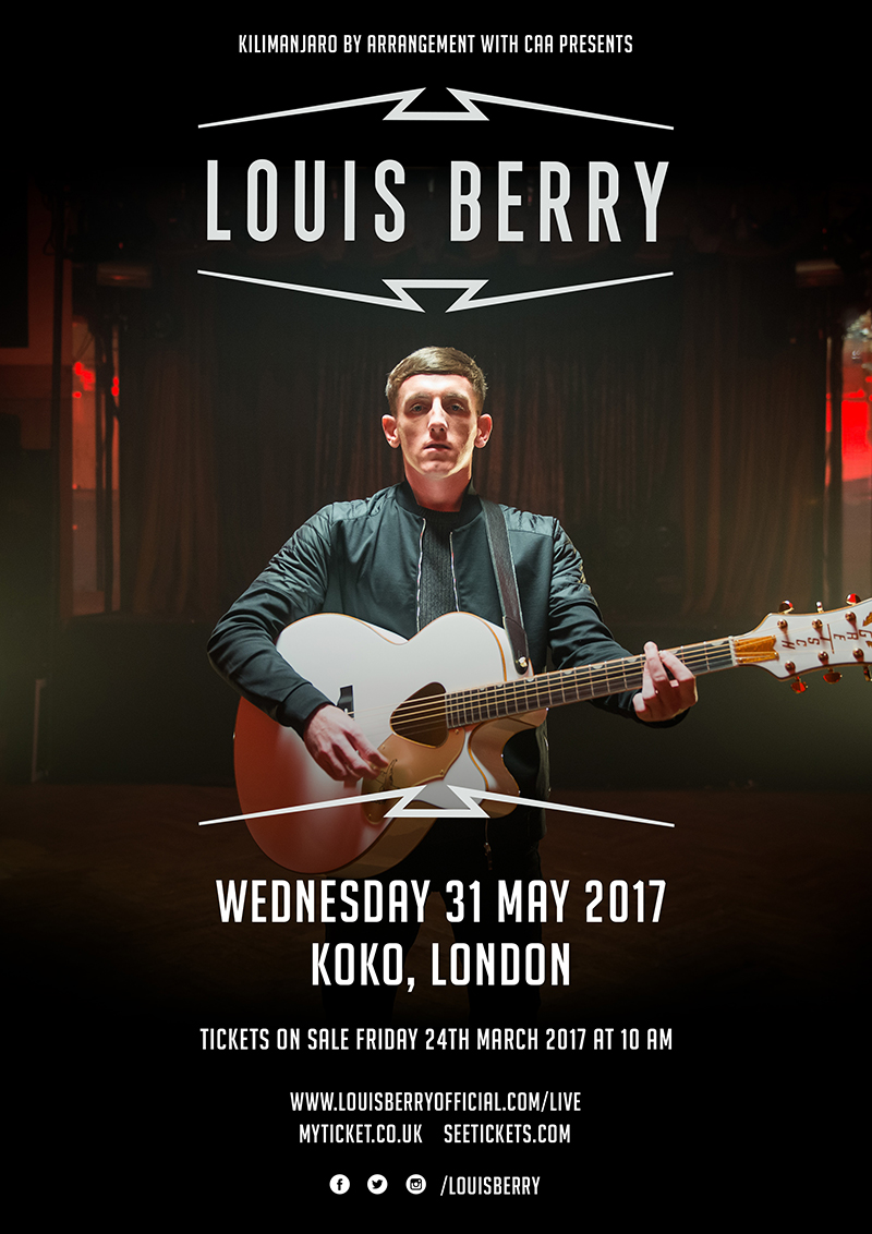 Louis Berry UK London 2017 show