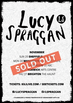 Lucy Spraggan UK Tour 2014