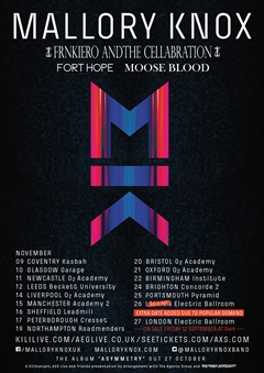 Mallory Knox UK Tour 2014