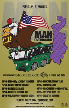 Man Overboard UK Tour 2015