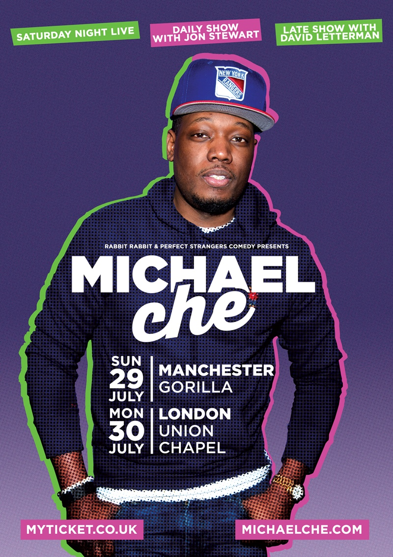 Michael Che UK Tour 2018