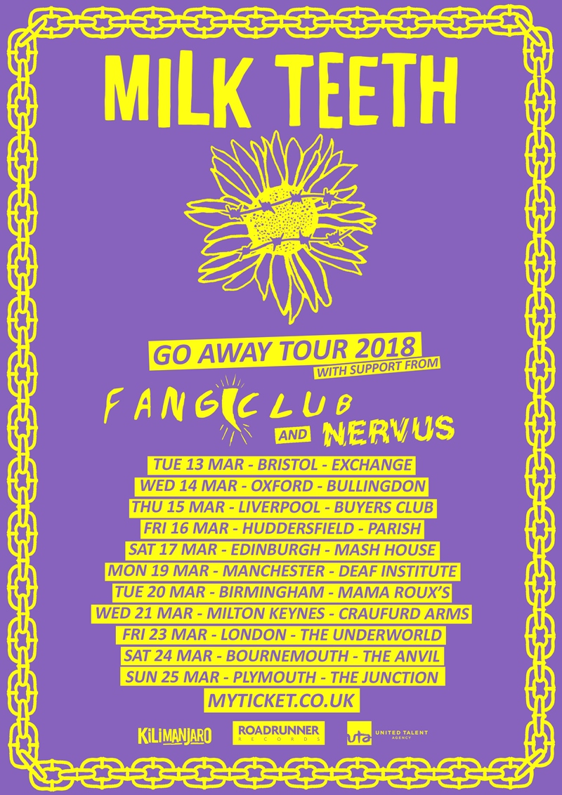 Milk Teeth UK Tour 2018