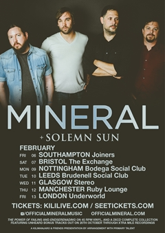 Mineral UK Tour 2015