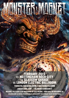Monster Magnet UK Tour 2015