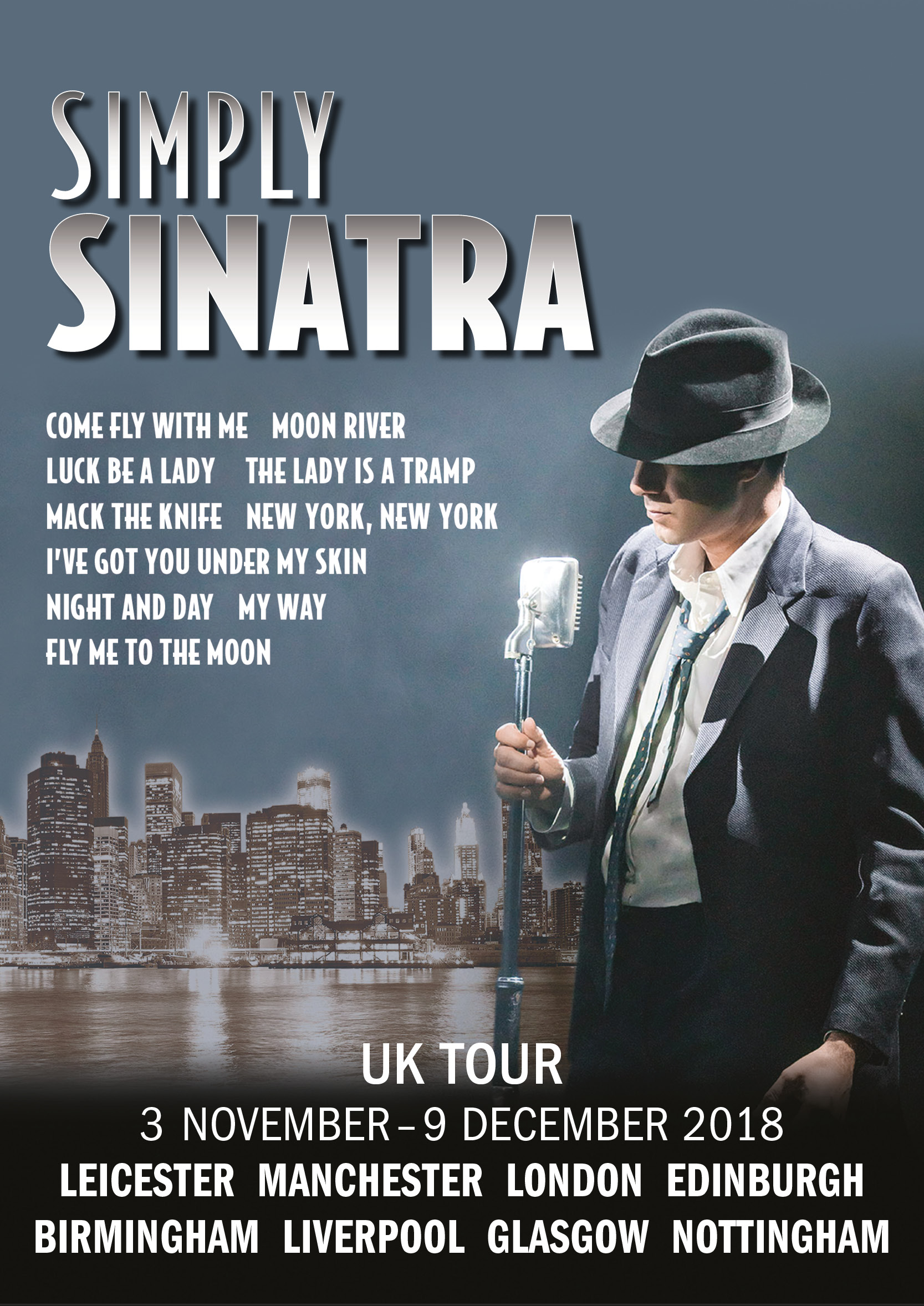 RGL presents Simply Sinatra UK Tour 2018