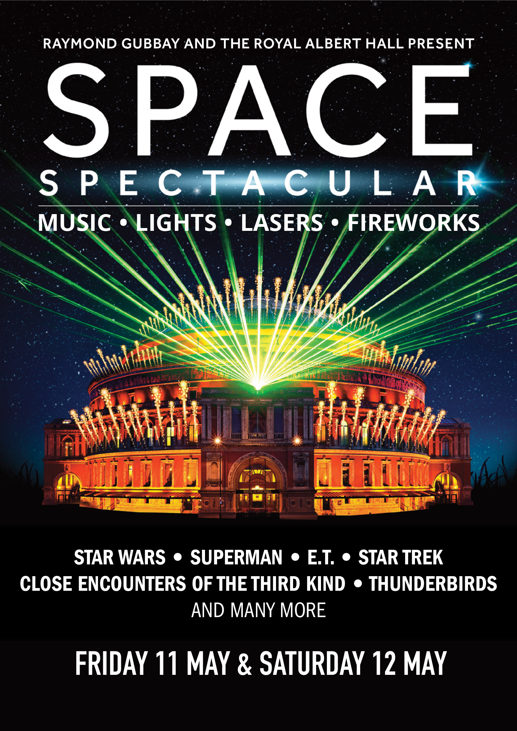 RGL presents Space Spectacular UK London 2018 show