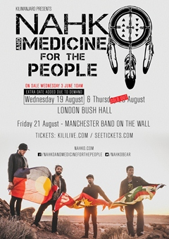 Nahko and Medicine for the People UK Tour 2015