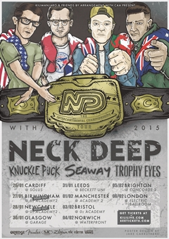 Neck Deep UK Tour 2015