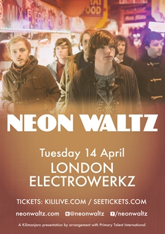 Neon Waltz UK Tour 2015