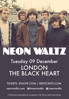 Neon Waltz UK Tour 2014