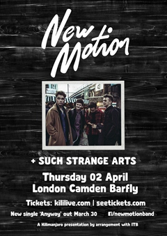 New Motion UK Tour 2015 London