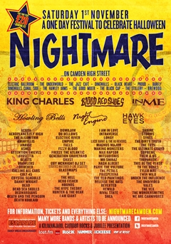 Nightmare Festival UK 2014