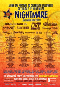 Nightmare UK Tour 2014