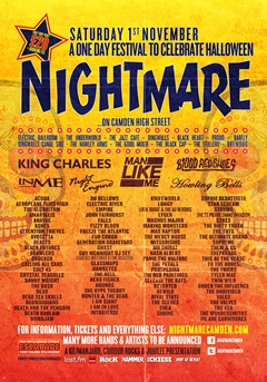 Nightmare Festival 2014 UK