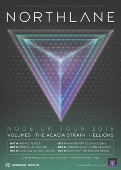 Northlane UK Tour 2015