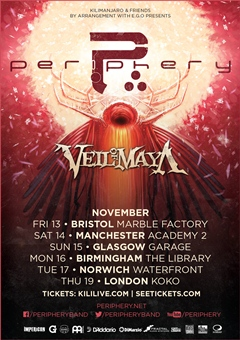 Periphery UK Tour 2015
