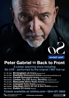 Peter Gabriel UK Tour 2014
