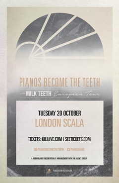Pianos Become The Teeth UK Tour 2015 London