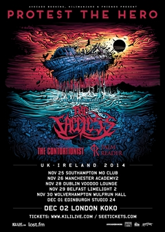 Protest The Hero UK Tour 2014