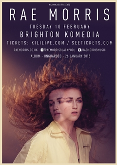 Rae Morris UK Tour 2015