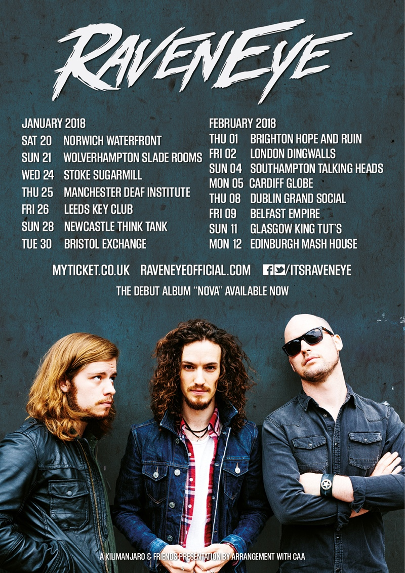 RavenEye UK Tour 2018