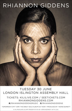 Rhiannon Giddens London 2015