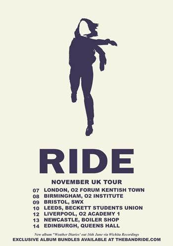 Ride UK Tour 2017