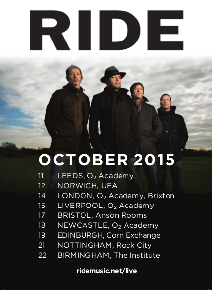 Ride UK Tour 2015