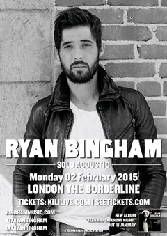 Ryan Bingham Solo Acoustic UK Tour 2015