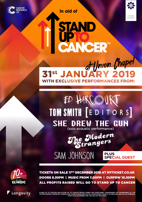 Stand Up To Cancer Art
