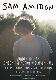 Sam Amidon UK Tour 2015
