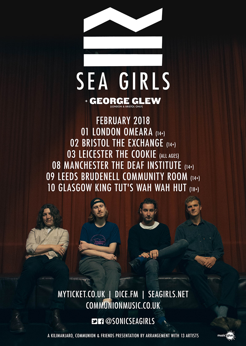 Sea Girls 2018 tour