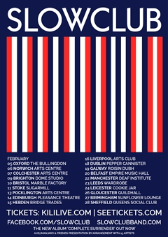 Slow Club UK Tour 2015