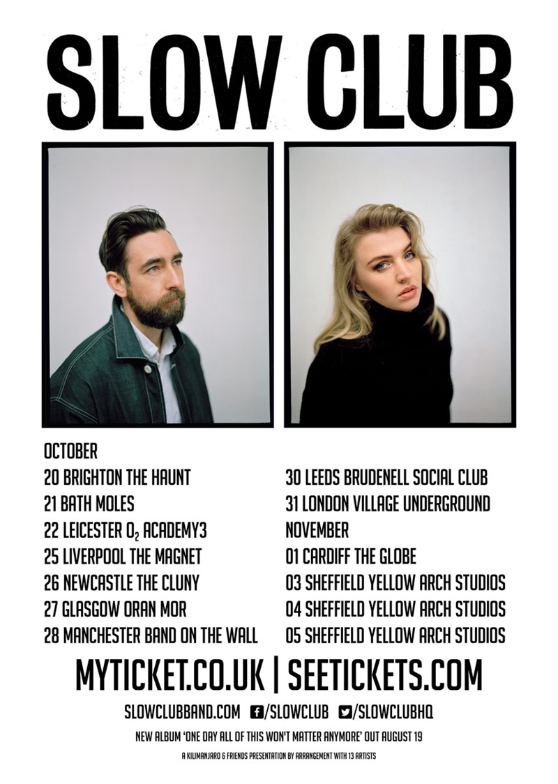 Slow Club UK Tour 2016