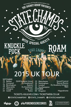 State Champs support tour 2015