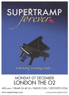 Supertramp UK Tour 2015 London