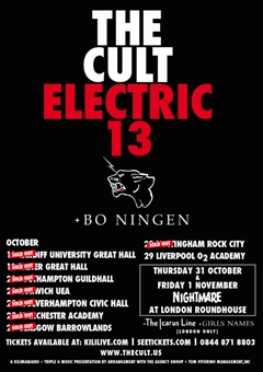 The Cult: Electric 13