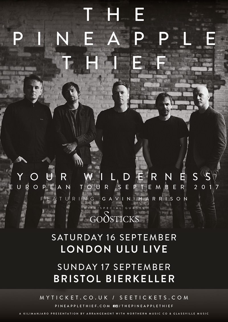 The Pineapple Thief 2017 tour