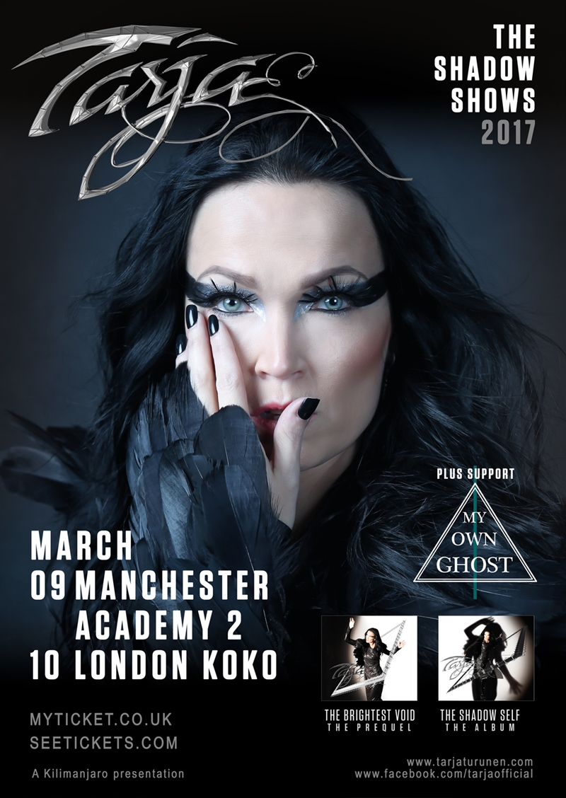 Tarja UK Tour 2017