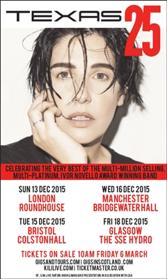 Texas UK Tour 2015 Bristol
